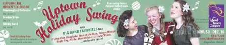 Uptown Holiday Swing banner